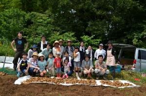 ほりもと農園2016_収穫_集合写真