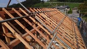 FPの家 屋根 かけ替え工事2(金沢市内)