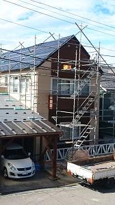FPの家 屋根 かけ替え工事(金沢市内)