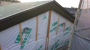FPの家 屋根 かけ替え工事7(金沢市内)